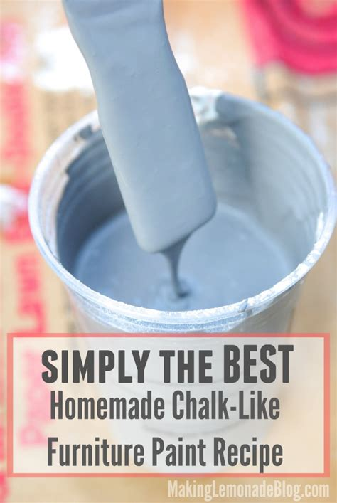 chalkboard paint how to make best chalk like paint recipe lemonade
