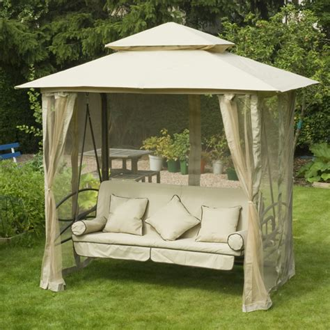 Pergola Swings metal gazebos sale fast delivery greenfingers com