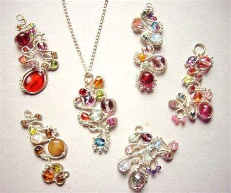 bead and wire jewelry ideas exclusive free jewelry project make a baroque wire