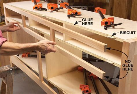 Furniture Making Tutorials 7 Attaching Face Frames By