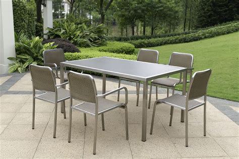 steel patio furniture sets the best materials for outdoor furniture