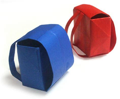 Origami Japanese School Bag