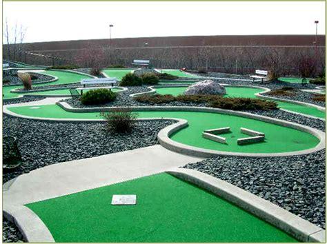backyard mini golf backyard mini golf course large and beautiful photos