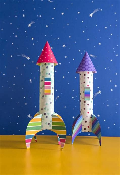 paper craft things best 25 rocket craft ideas on