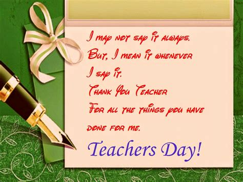 teachers day greeting card for special day for the appreciation of teachers festival chaska