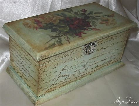 decoupage box decoupage box decoupage