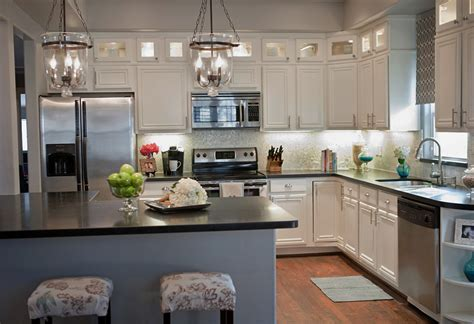 kitchen ideas with white cabinets remodelaholic complete kitchen transformation white cabinets