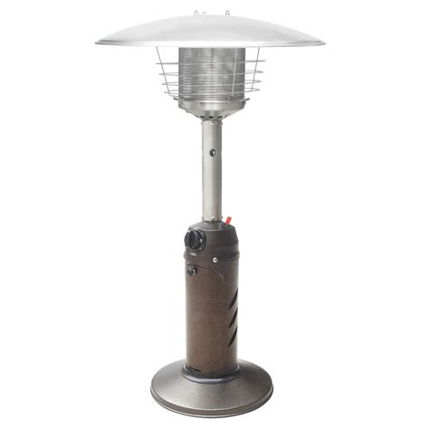 patio heaters propane hammered bronze tabletop outdoor patio heater commercial