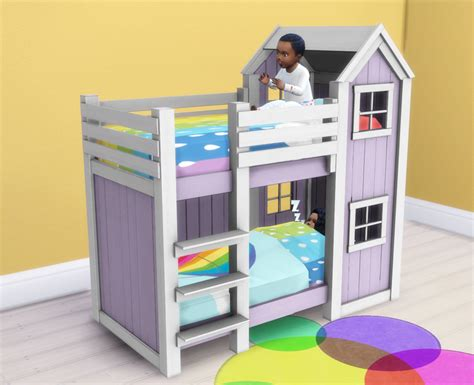 toddler bed bunk beds my sims 4 separated toddler mattresses in 2 heights