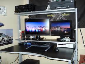 best desks best gaming computer desk 2014 atlantic 33935701 gaming