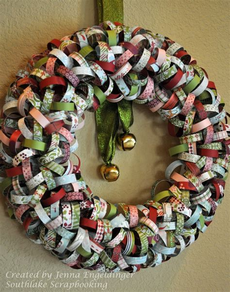 wreath craft for accessories and furniture inspiring handmade paper crafts