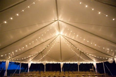 tent string lights 9 great tent lighting ideas for outdoor events