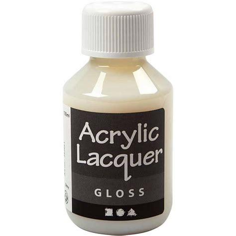 Acrylic Lacquer Gloss 100ml Acrylic Paint Paint Diy