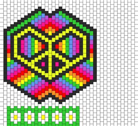 simple beading designs kandi patterns for kandi cuffs simple pony bead patterns