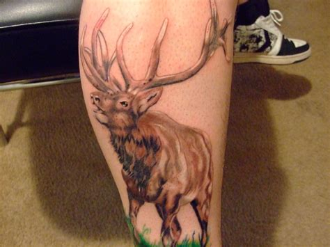 elk tattoo by scratch pad on deviantart