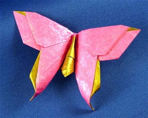origami swallowtail butterfly origami butterflies by richard l and greg