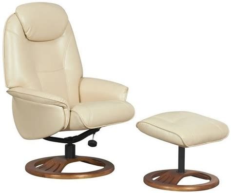 swivel leather recliner chair gfa oslo bonded leather swivel recliner chair
