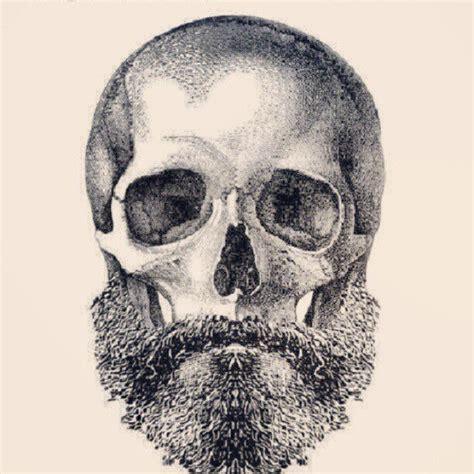 skull beard beard skull with beard