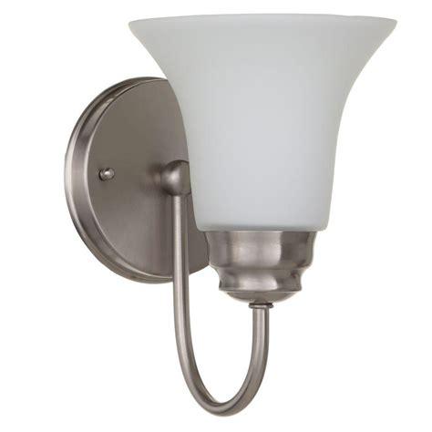 bathroom lighting sconces sconces bathroom lighting the home depot realie