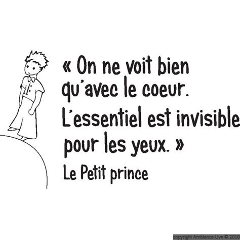 stickers muraux citations sticker mural le petit prince 2 wishlist what is