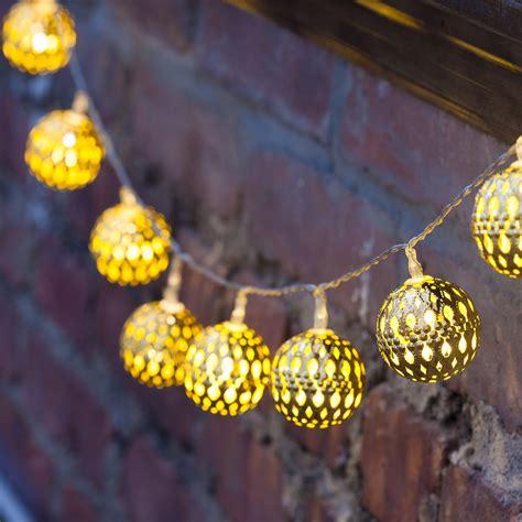 battery operated string light lights lit decor string lights decorative gold