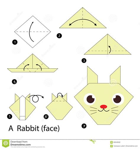 how to make an origami rabbit step by step how to make origami a rabbit