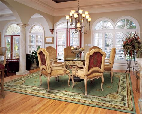 rug dining room the best size for your dining room rug rug home