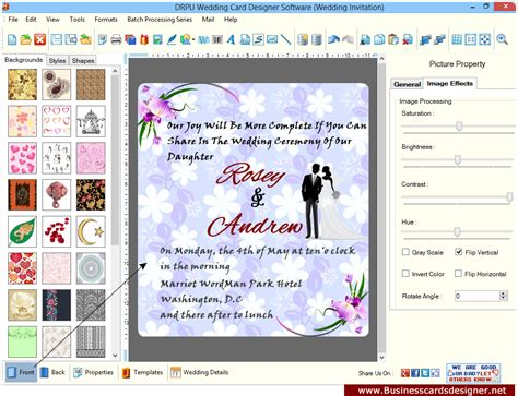 software for cards and invitations wedding card designer software to design invitation cards