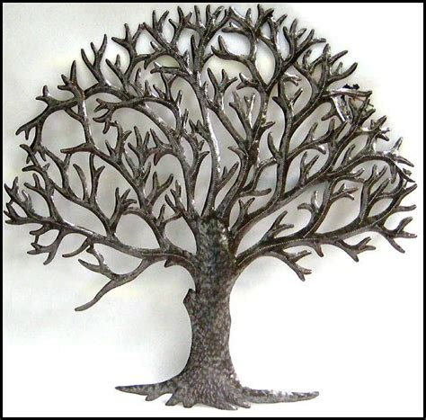 decorative metal trees metal tree wall decoration ideas metal tree