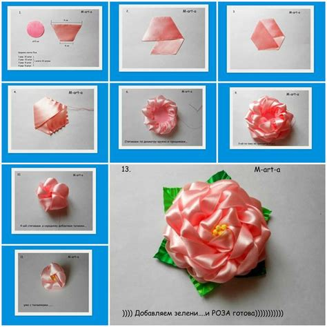 crafts for step by step how to make from voile ribbon step by step diy