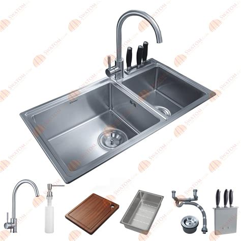 1 1 2 bowl kitchen sink 32 1 2 inch 12mm thickness stainless steel topmount drop