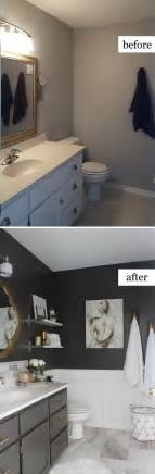 Diy Kitchen Makeover Ideas 10 before and after bathroom remodel ideas for 2016 2017