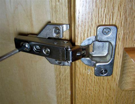 adjusting cabinet door hinges how to adjust style cabinet hinges 7 steps wikihow