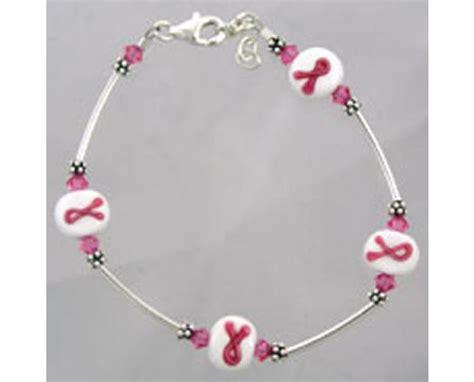 breast cancer awareness beaded bracelets breast cancer awareness lwork beaded bracelet