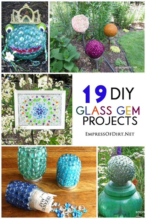 glass craft projects glass garden crafts