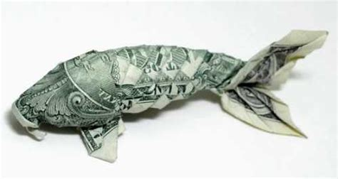 dollar origami fish wallpapers name creative one dollar bills origami and a