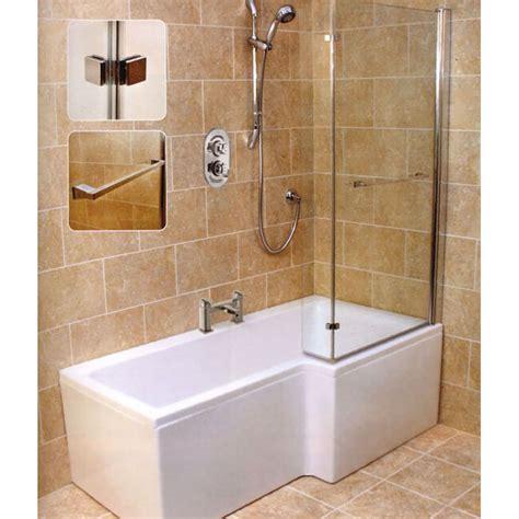 right shower bath laguna l shape shower bath right handed buy at