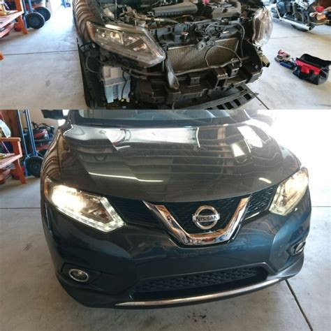 painted nissan rogue genuine factory oem front bumper cover