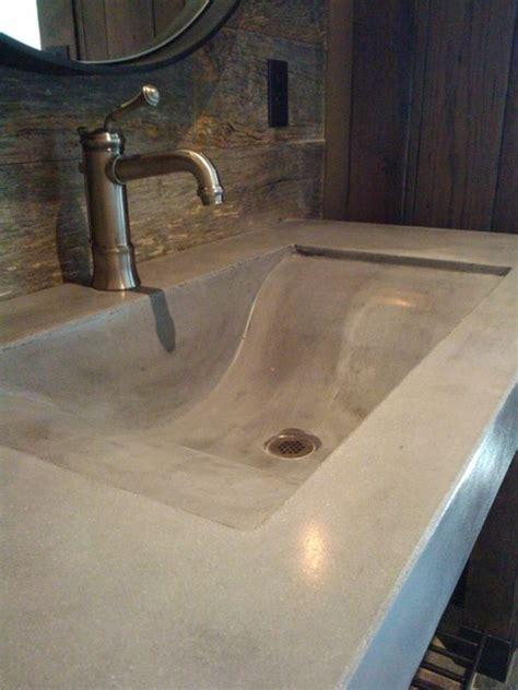 Concrete Vanity Top by Custom Made Bathroom Vanity Top Concrete Sink