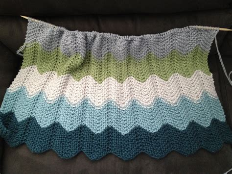 chevron knitted baby blanket pattern supacrafty baby blanket success