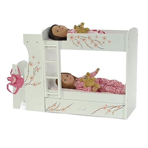 18 inch doll desk fits american doll bunk bed desk combo 18 quot inch dolls