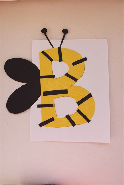 alphabet crafts for letter b crafts for kindergarten preschool and kindergarten