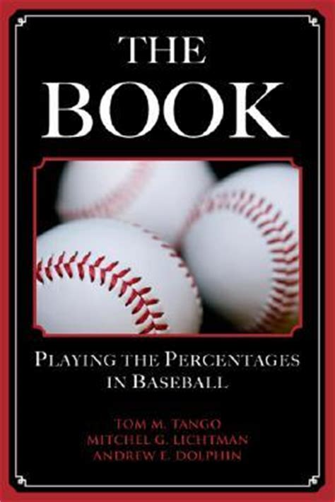 baseball picture books the book the percentages in baseball by tom m