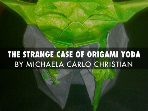strange of origami yoda the strange of origami yoda by harmony