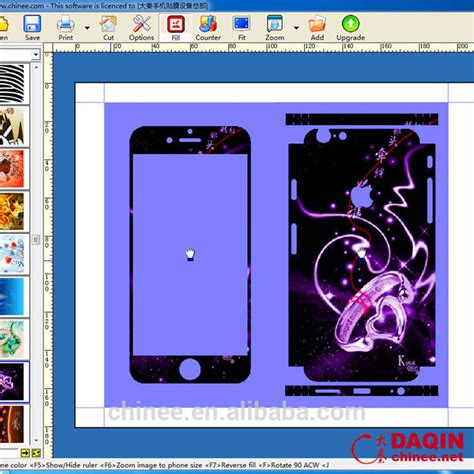 phone skin design software daqin diy custom cell phone 3d design software with