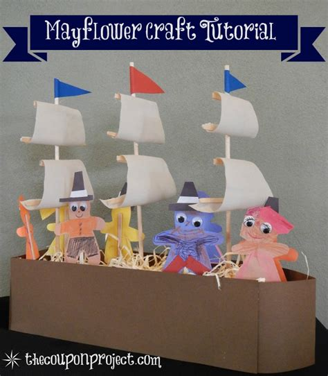 mayflower crafts for mayflower craft tutorial a different sort of thanksgiving
