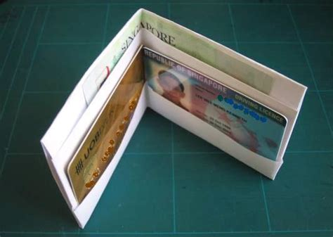 origami wallet origami and card models