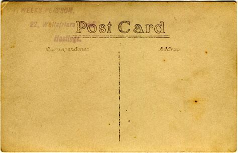 post card hastings pearson