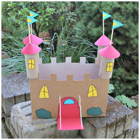 castle craft for recycled cardboard castle craft 183 kix cereal