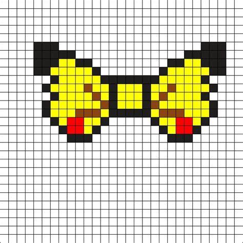 pikachu perler bead template 25 best ideas about bow pattern on felt hair